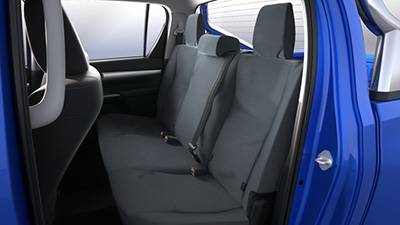 Canvas Seat Covers (Rear)